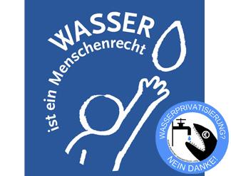 Wasser ist ein Menschenrecht - Wassertisch