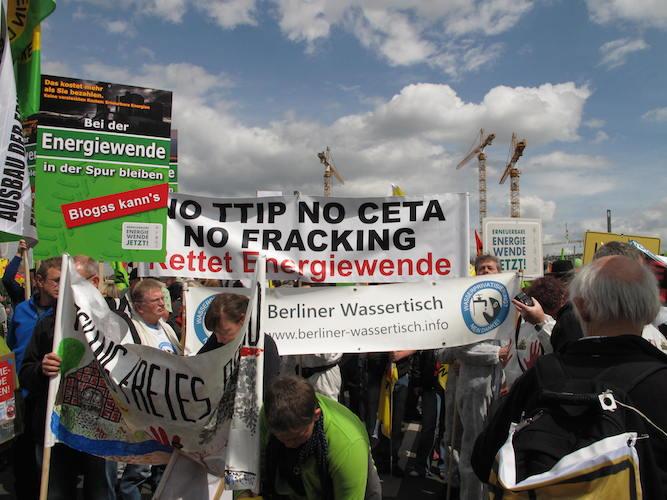 Wasserqualität, Energiewende, CETA, TTIP - alles hängt zusammen
