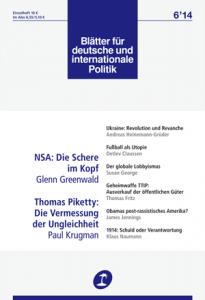 Geheimwaffe TTIP: Der Ausverkauf der öffentlichen Güter