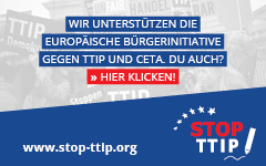 Stop TTIP Stop CETA