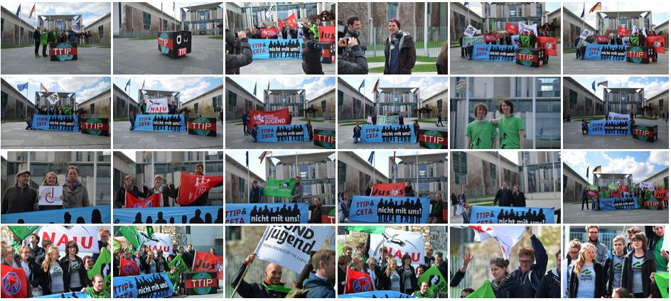 Jugendorganisationen gegen TTIP