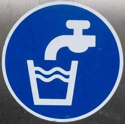 Trinkwasser-Schild