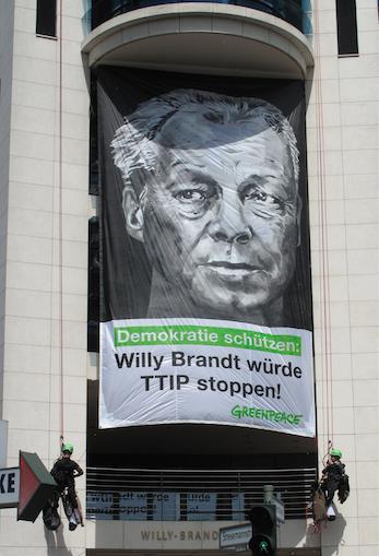Greenpeace (Foto: Berliner Wassertisch)
