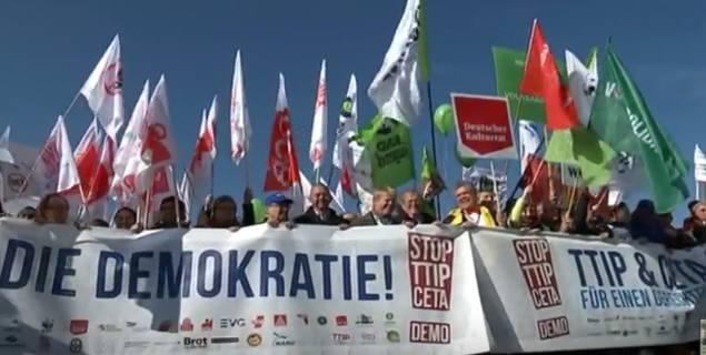 TTIP-Demo am 10.10.2015